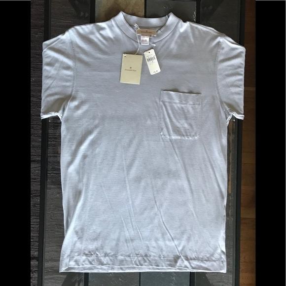 0550b845 Ermenegildo Zegna T Shirt Luxury tshirt Italian NWT
